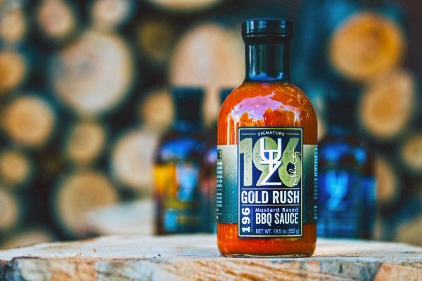 utz works gold rush bbq sauce