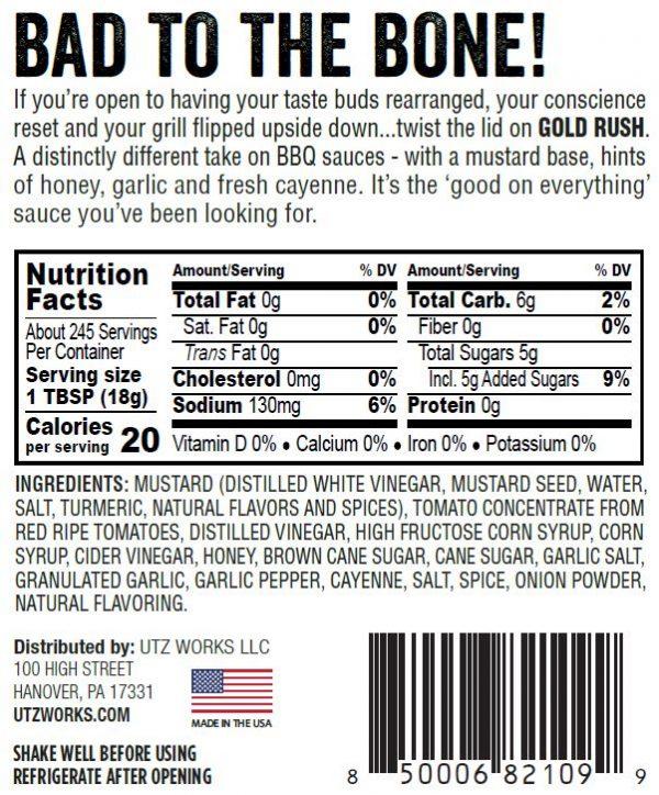 gold rush bbq sauce