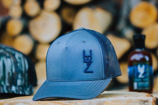 utz works blue hat
