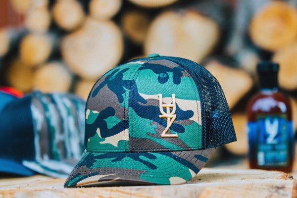 utz green camo hat