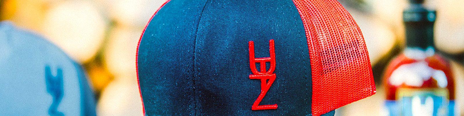UTZ Works Hat  Black / Red