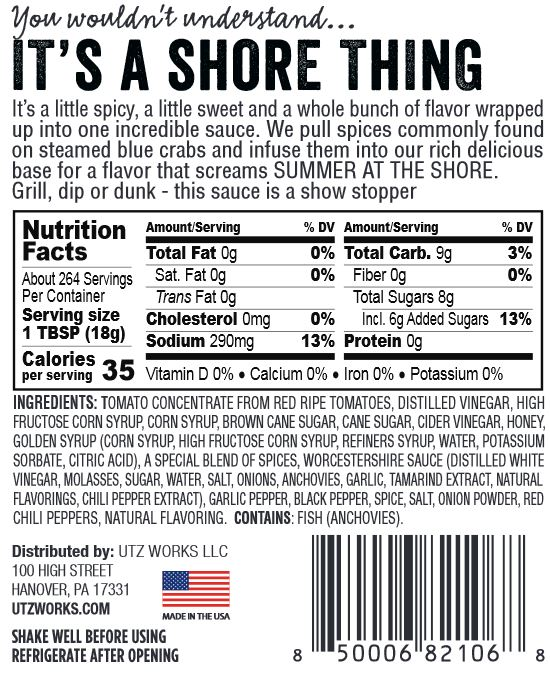 Shore Thing by UTZ